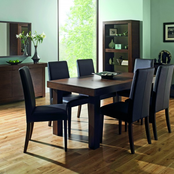 Person Round Tables Holaklonecco - Round extendable dining table seats 8