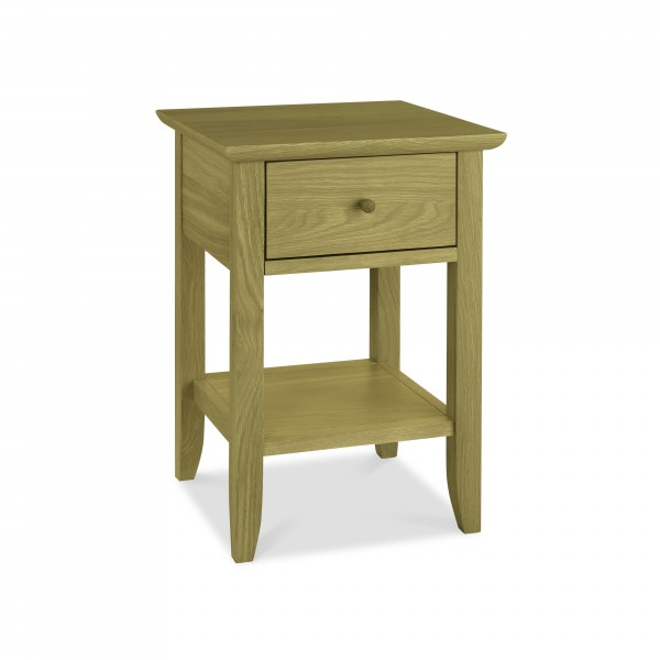 York Lamp Table with Drawer