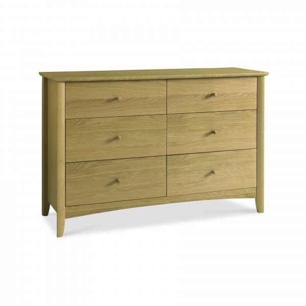 Cambridge 6 Drawer Wide Chest