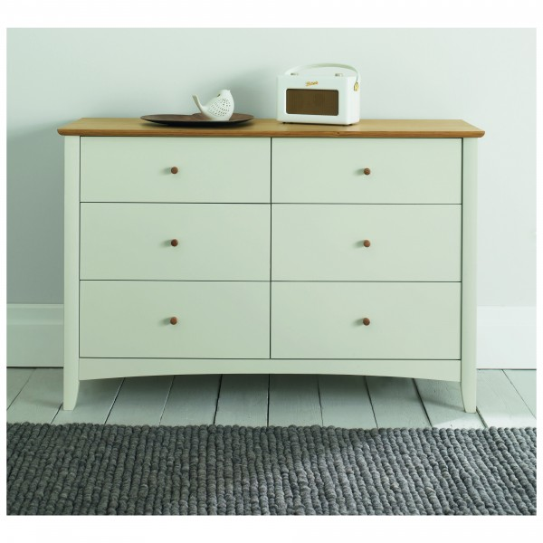 Oxford 6 Drawer Wide Chest