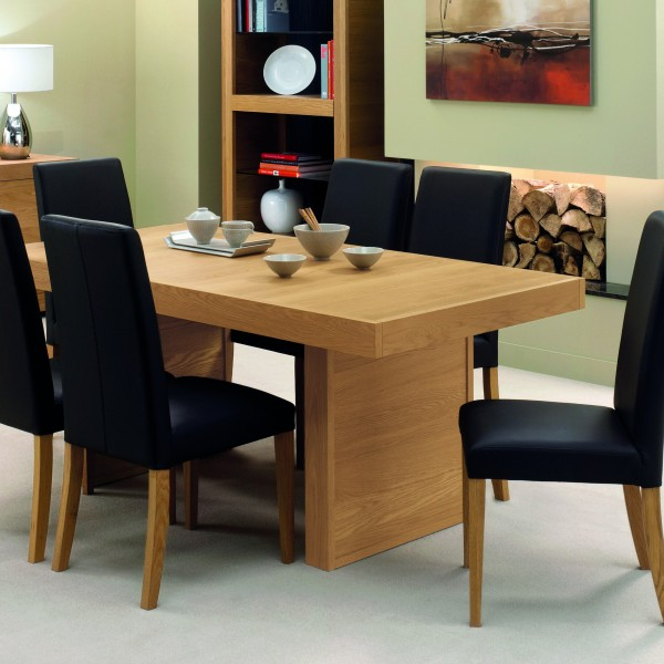Dersingham Dining Table 4-6 Person (without panel ends)