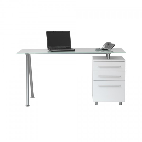 Cotswold Glass Desk