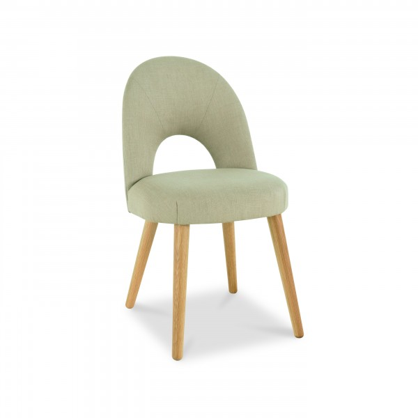 Lavenham Upholstered Dining Chair – Stone