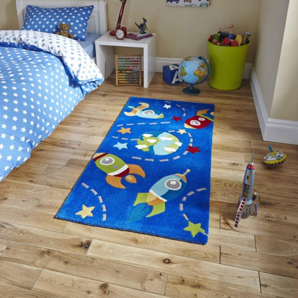 Rocket Childrens Rug