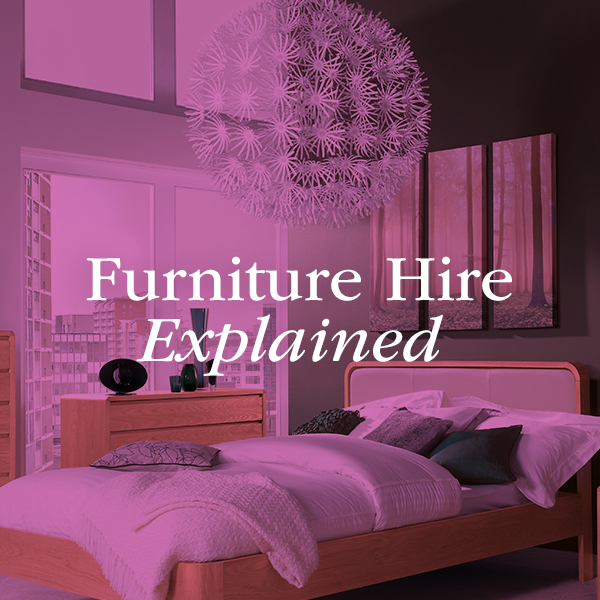 The furniture hire process explained