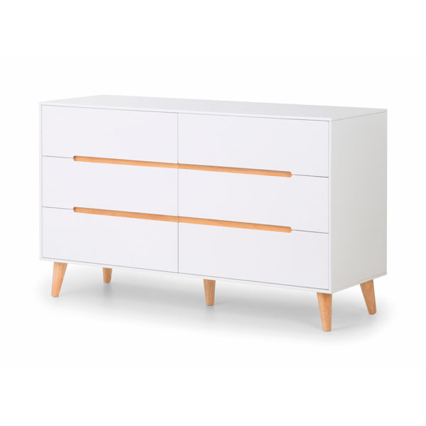 Keele 6 Drawer Wide Chest