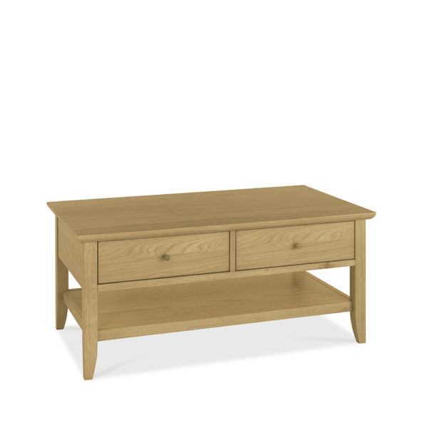 York Coffee Table with Drawers