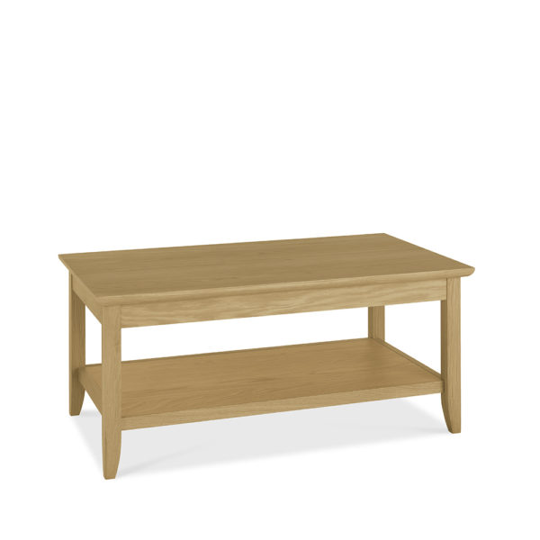York Coffee Table with Shelf