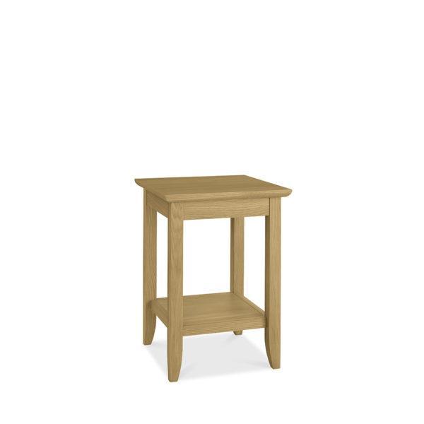 York Lamp Table with Shelf