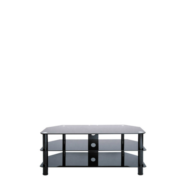 TV Stand – Wide Black