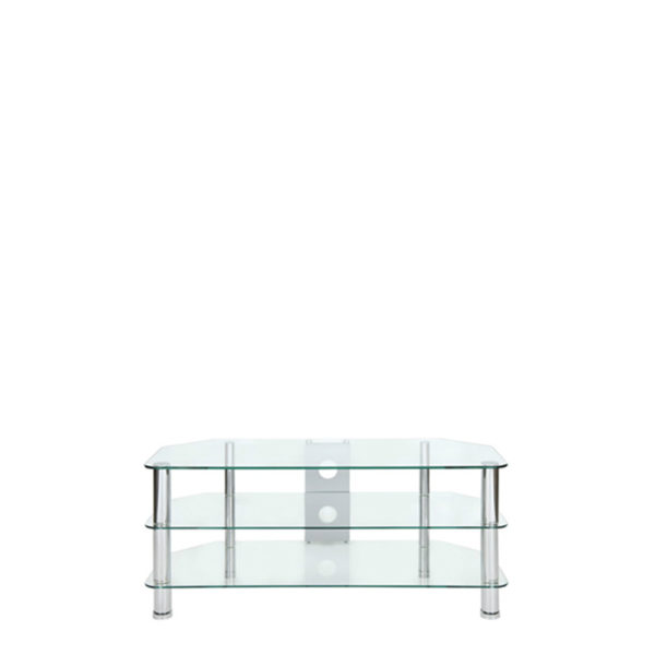 TV Stand – Wide Chrome