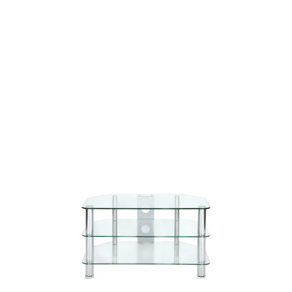 Tv Stand – Small Chrome