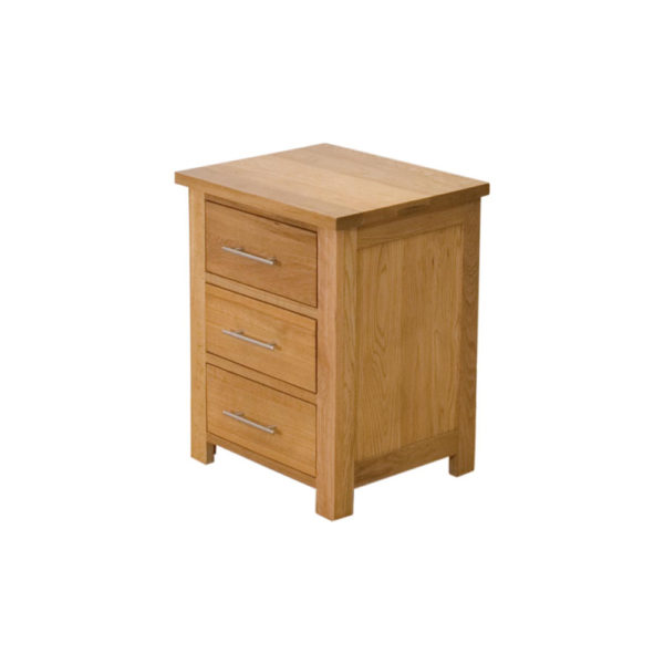 Sussex Bedside Table – 3 Drawer