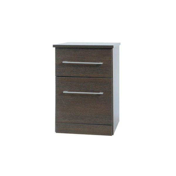 Essence Wenge 1 Door/1 Drawer Bedside Table