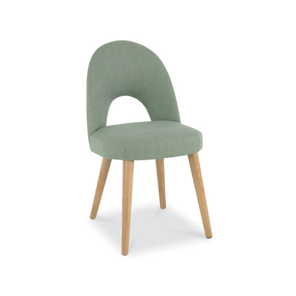 Lavenham Upholstered Chair – Aqua