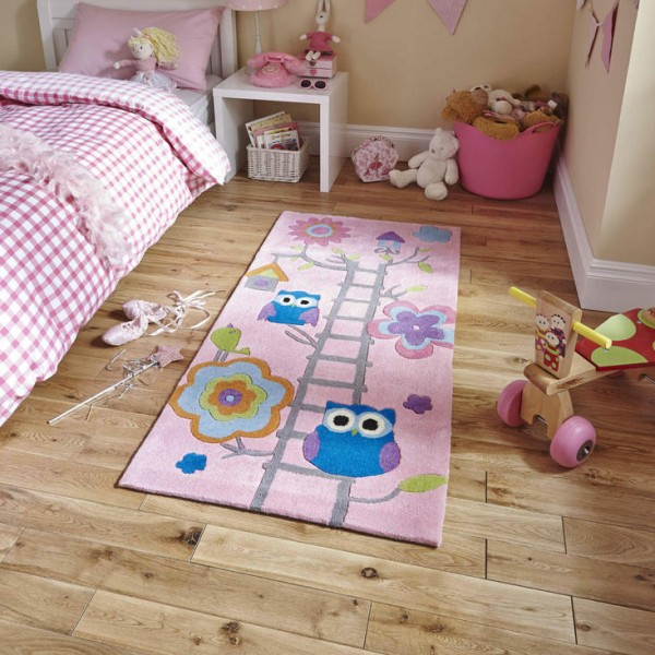 Owl Childrens Rug