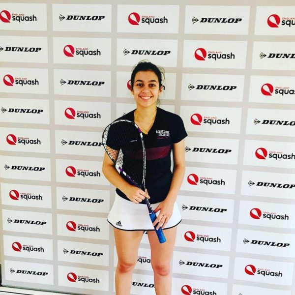 Catching up with our squash superstar Sofia