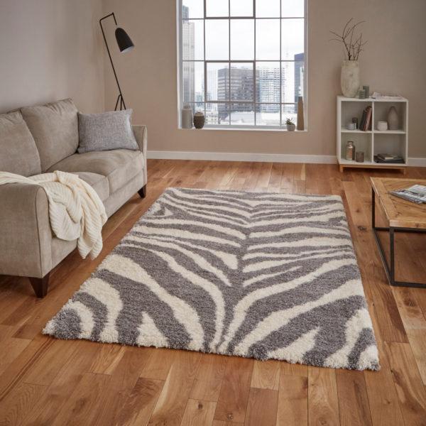 Zebra Rug – Large